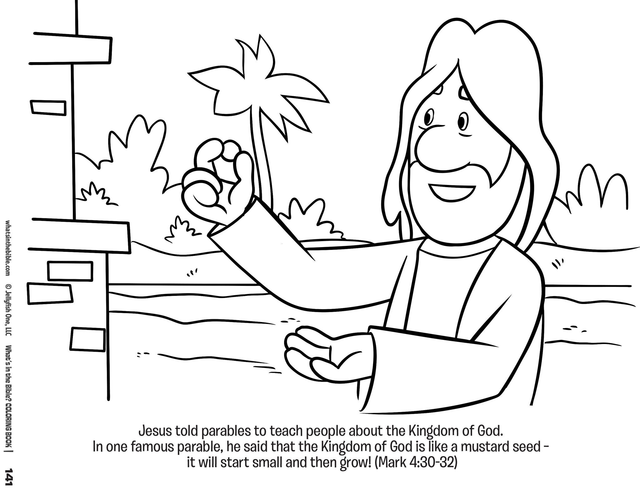 whats in the bible coloring book sample 2 - Bible Coloring Book