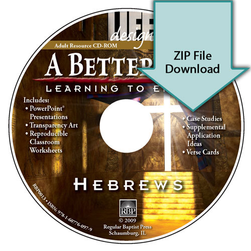 A Better Way: Learning to Endure - Hebrews<br>Resource CD Download