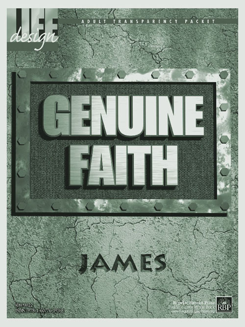 Genuine Faith: James<br>Adult Transparency Packet