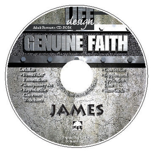 Genuine Faith: James <br>Adult Resource CD