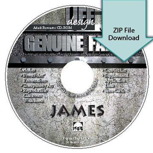 Genuine Faith: James<br>Resource CD Download