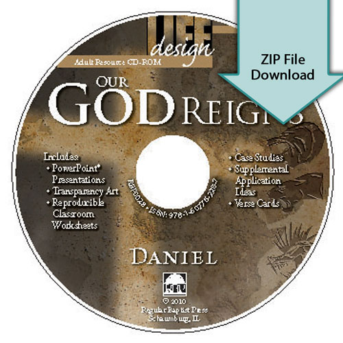 Our God Reigns: Daniel<br>Resource CD Download