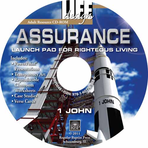 Assurance: Launch Pad for Righteous Living <br>Adult Resource CD