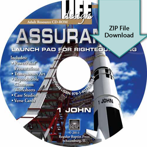 Assurance: Launch Pad for Righteous Living<br>Resource CD Download