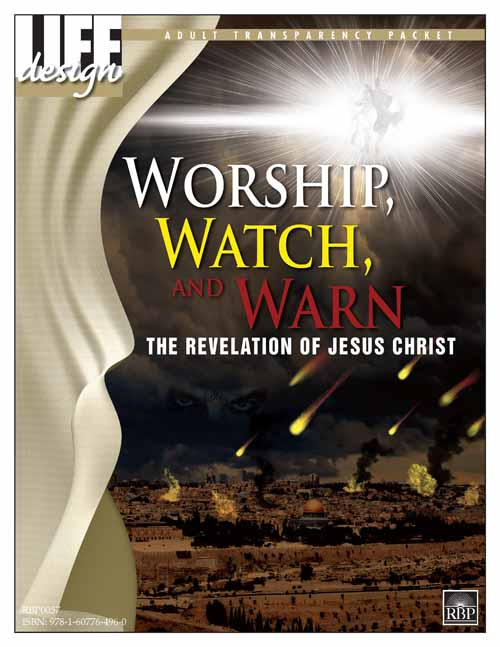 Worship, Watch, and Warn: Revelation<br>Adult Transparency Packet