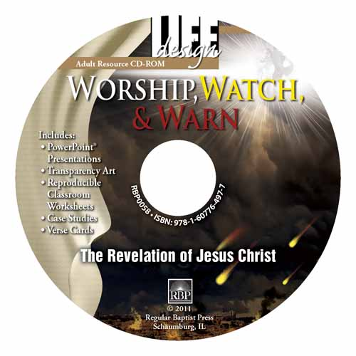 Worship, Watch, and Warn: Revelation <br>Adult Resource CD