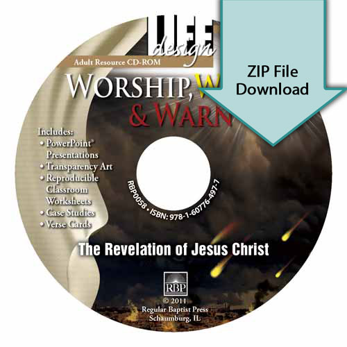 Worship, Watch, and Warn: Revelation<br>Resource CD Download