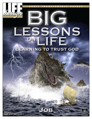 Big Lessons on Life: <br>Learning to Trust God:Job<br> Adult Transparency Packet