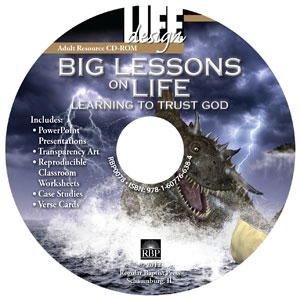 Big Lessons on Life: <br>Learning to Trust God:Job<br> Adult Resource CD