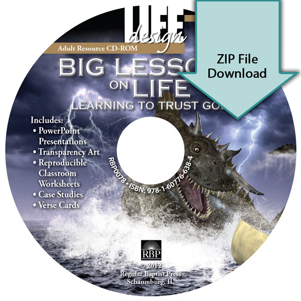 Big Lessons on Life: <br>Learning to Trust God:Job<br>Resource CD Download