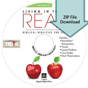 Living in the Real: Biblical Realities for Life<br>Resource CD Download
