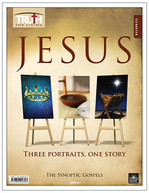 Jesus: Three Portraits, One Story <br>Adult Transparency Packet