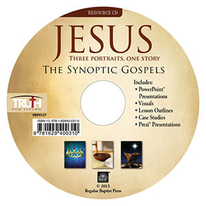 Jesus: Three Portraits, One Story <br>Adult Resource CD