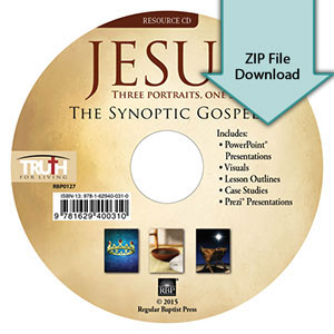 Jesus: Three Portraits, One Story<br>Resource CD Download