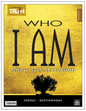 Who I AM: God's Self-Revelation <br>Adult Transparency Packet