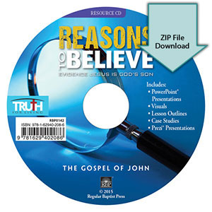 Reasons to Believe: Evidence Jesus is God's Son<br>Resource CD Download