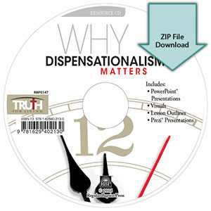Why Dispensationalism Matters<br>Resource CD Download