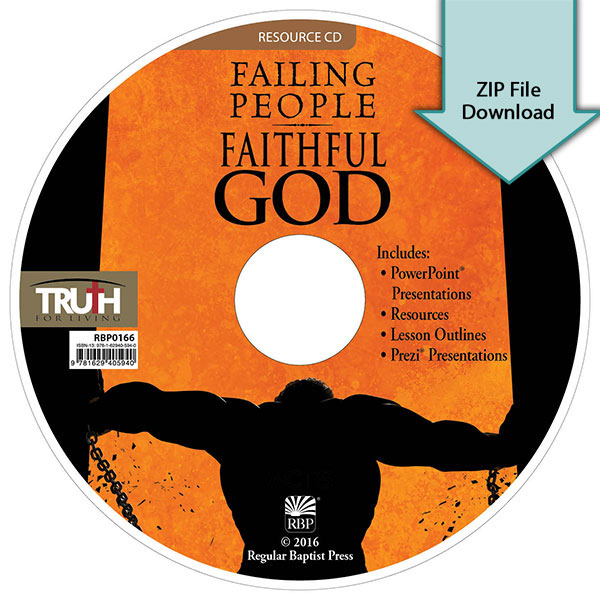 Failing People, Faithful God<br>Resource CD Download