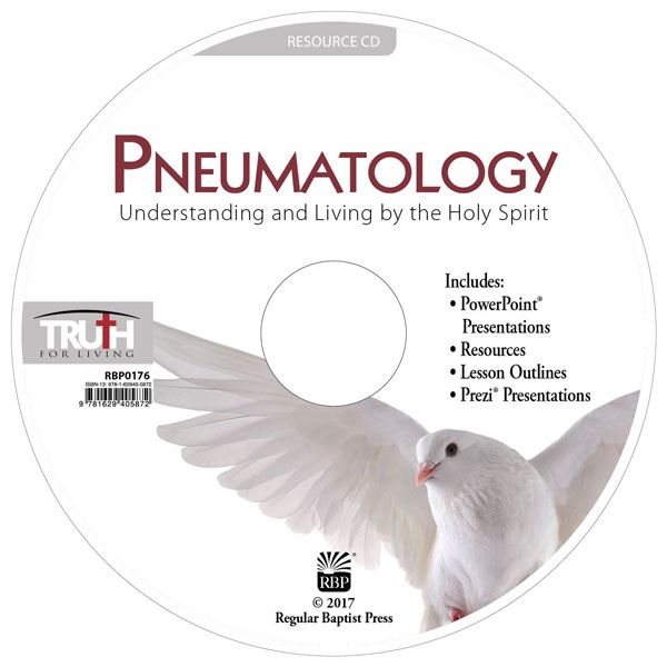 Pneumatology: Understanding and Living by the Holy Spirit <br>Adult Resource CD