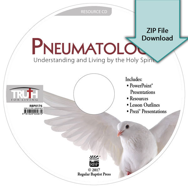 Pneumatology: Understanding and Living by the Holy Spirit<br>Resource CD Download