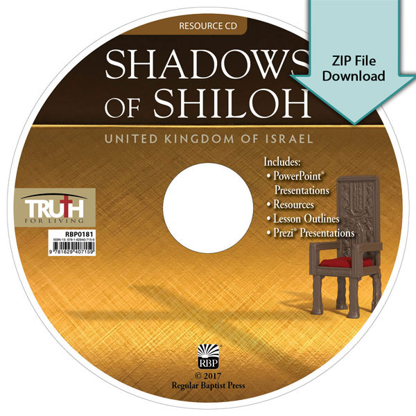 Shadows of Shiloh<br>Resource CD Download