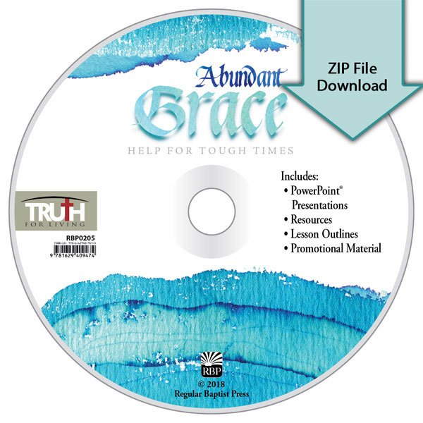 Abundant Grace: Help for Tough Times<br>Resource CD Download