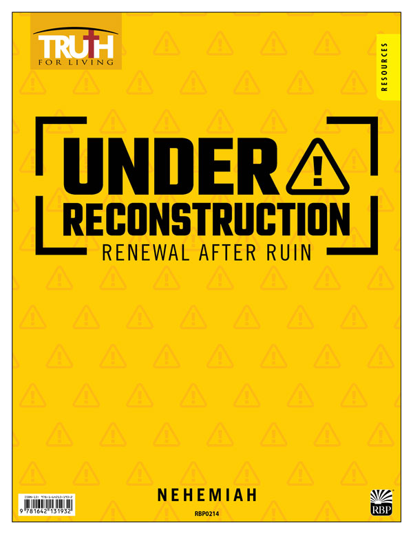 Under Reconstruction: Renewal after Ruin <br>Adult Transparency Packet
