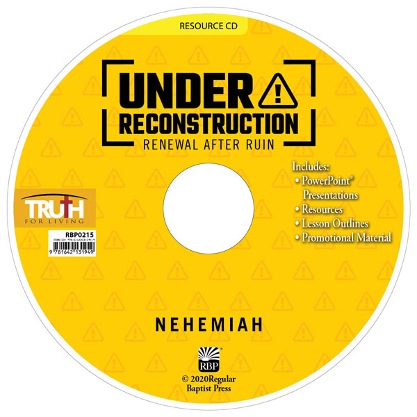 Under Reconstruction: Renewal after Ruin <br>Adult Resource CD