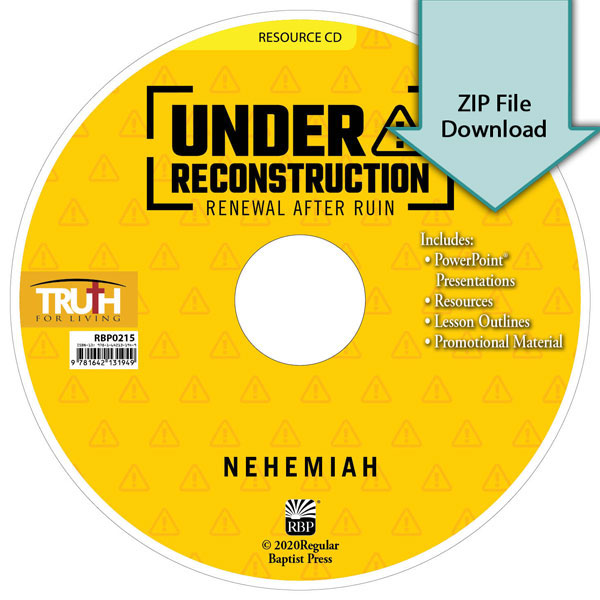 Under Reconstruction: Renewal After Ruin<br>Resource CD Download