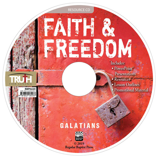 Faith and Freedom <br>Adult Resource CD