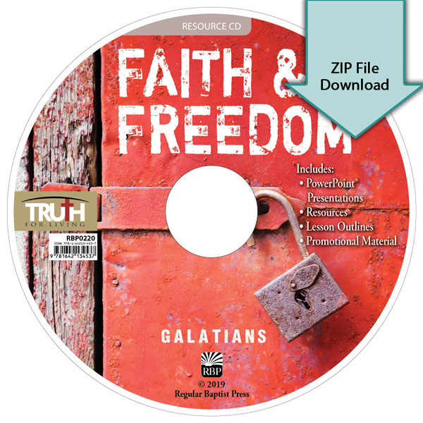 Faith and Freedom<br>Resource CD Download
