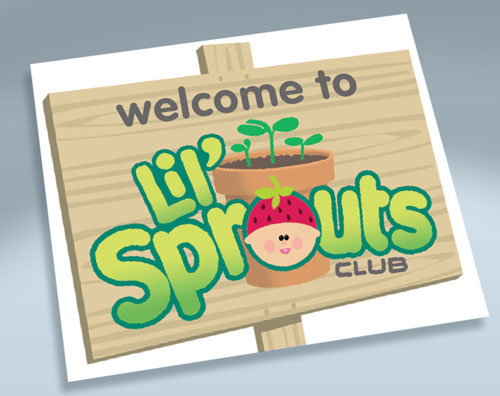 Lil' Sprouts Club<br>Poster