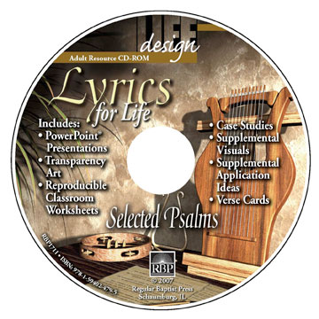 Lyrics for Life: Selected Psalms <br>Adult Resource CD