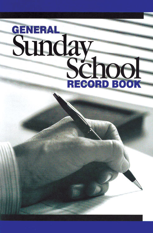General Sunday School Record Book