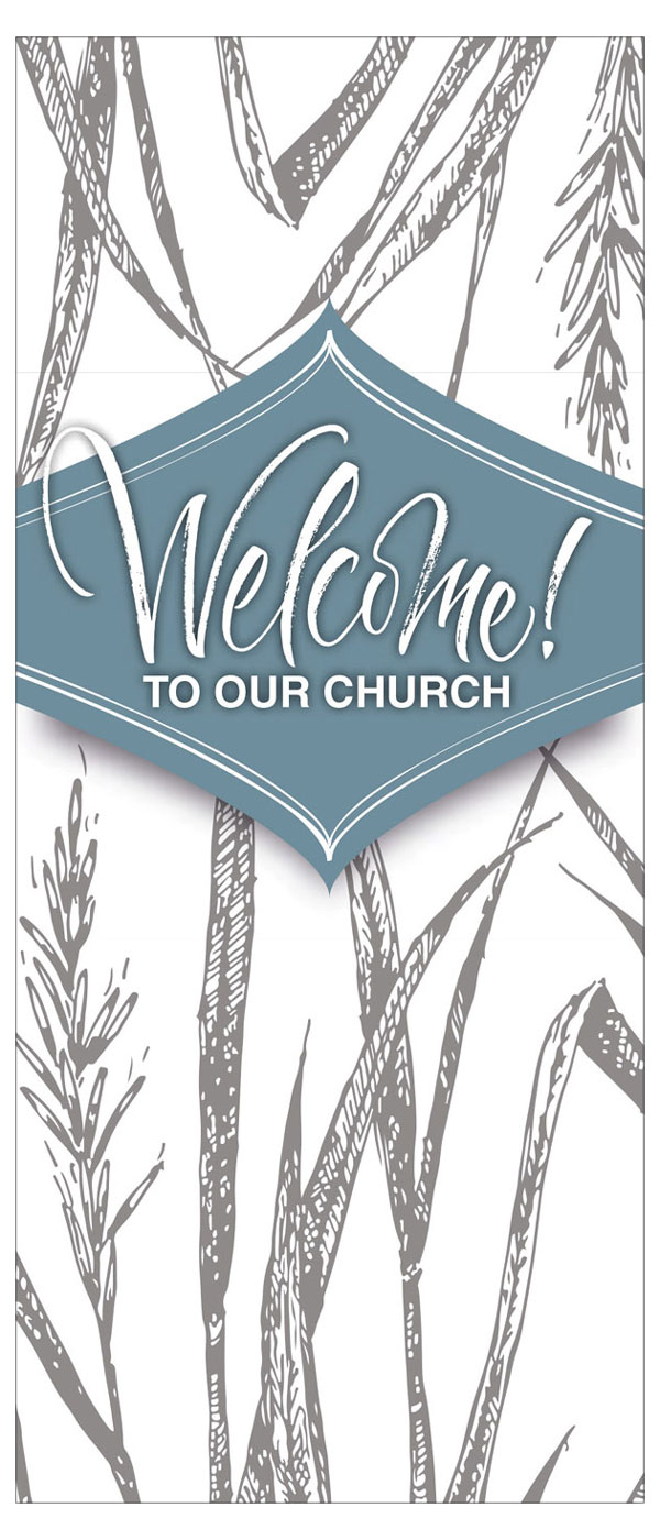 Welcome to Our Church—Card