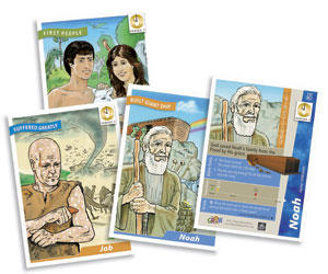 It's Grow Time <br>Year 1 Bible Timeline Collector Cards