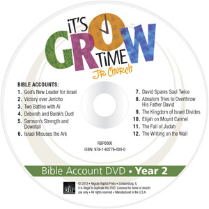It's Grow Time <br>Year 2 Bible Account DVD