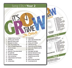 It's Grow Time <br>Year 2 Song CDs