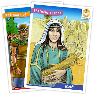 It's Grow Time <br>Year 2 Bible Timeline Collector Cards