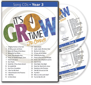 It's Grow Time <br>Year 3  Song CDs