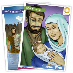 It's Grow Time <br>Year 3 Bible Timeline Collector Cards