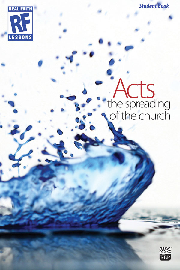 Acts: The Spreading of the Church - Summer 2018 <br>Senior High Student Devotional Book