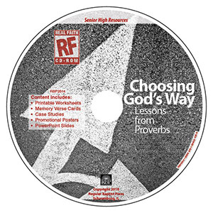 Choosing God's Way <br>Senior High Teacher's Resource CD