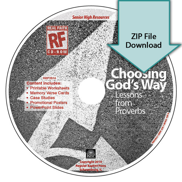 Choosing God's Way <br>Senior High Teacher's Resource Download