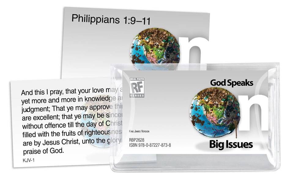 God Speaks on Big Issues <br>Senior High Memory Verses Card Pack