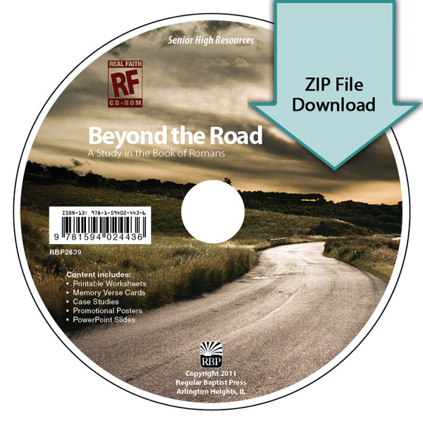 Beyond the Road: A Study in the Book of Romans <br>Senior High Teacher's Resource Download