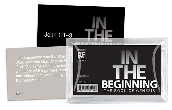 In the Beginning: The Book of Genesis <br>Senior High Memory Verses Card Pack