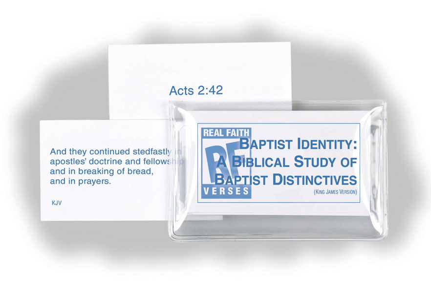 Baptist Identity <br>Senior High Memory Verses Card Pack