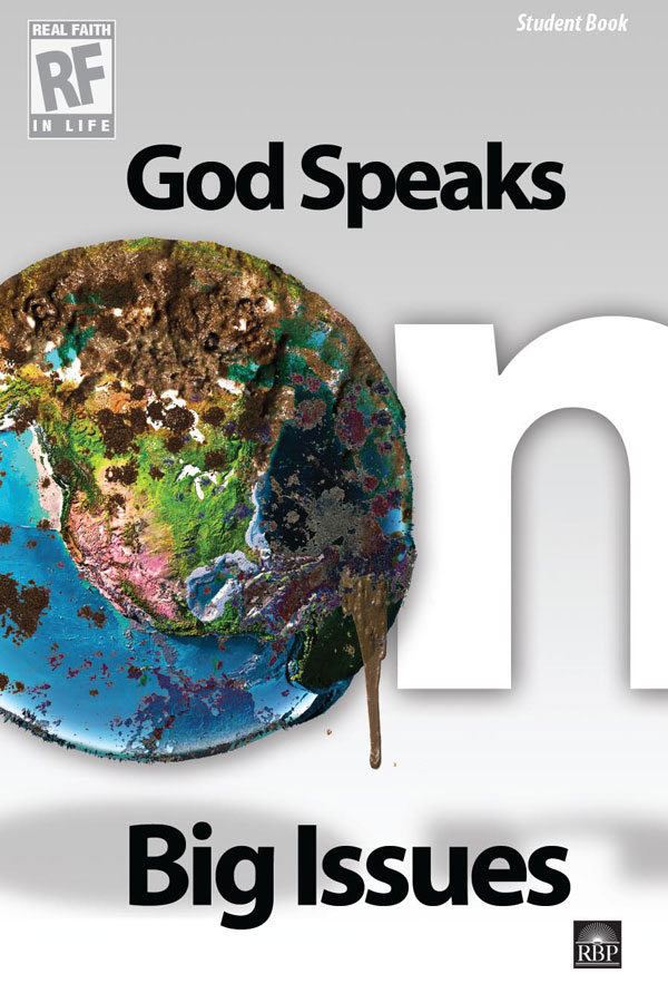 God Speaks on Big Issues <br>Senior High Student Devotional Book