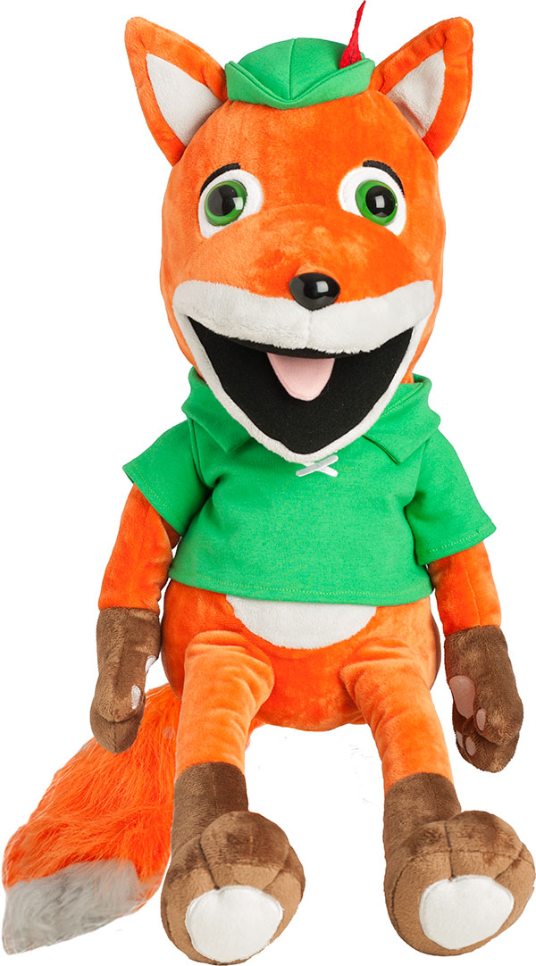 "Finnegan Fox Puppet<BR><span style=""color:red"">ON SALE</span>"